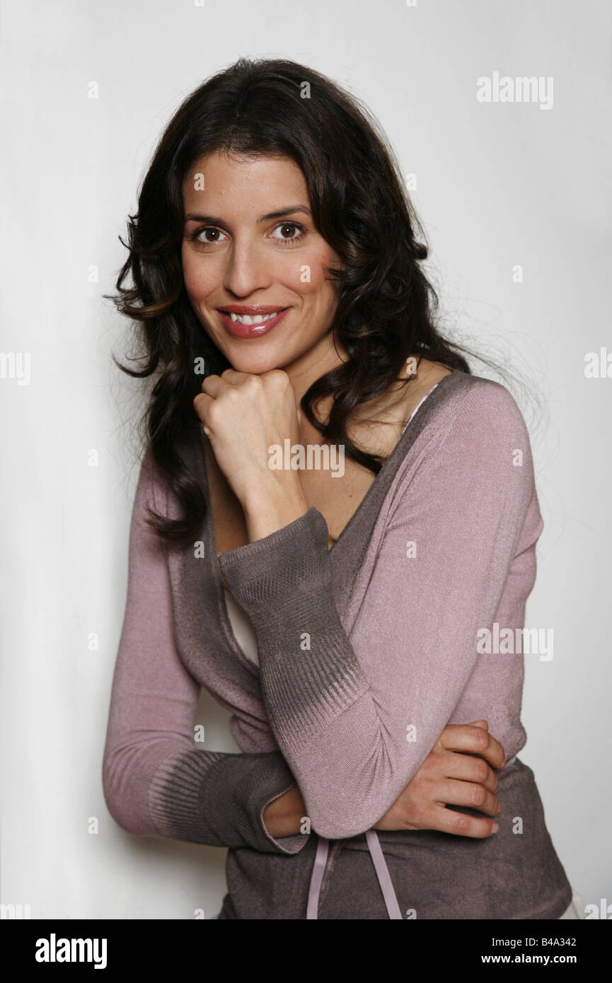 Uhlig, Elena, * 31.7.1975, German actress, halbfigur, 2006, Additional-Rights-Clearances-NA - Stock Image