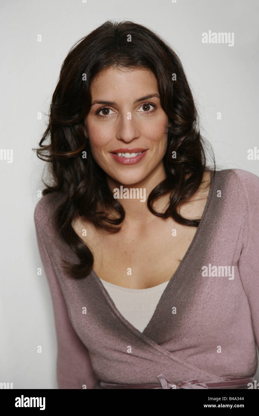 Uhlig, Elena, * 31.7.1975, German actress, portrait, 2006, Additional-Rights-Clearances-NA - Stock Image