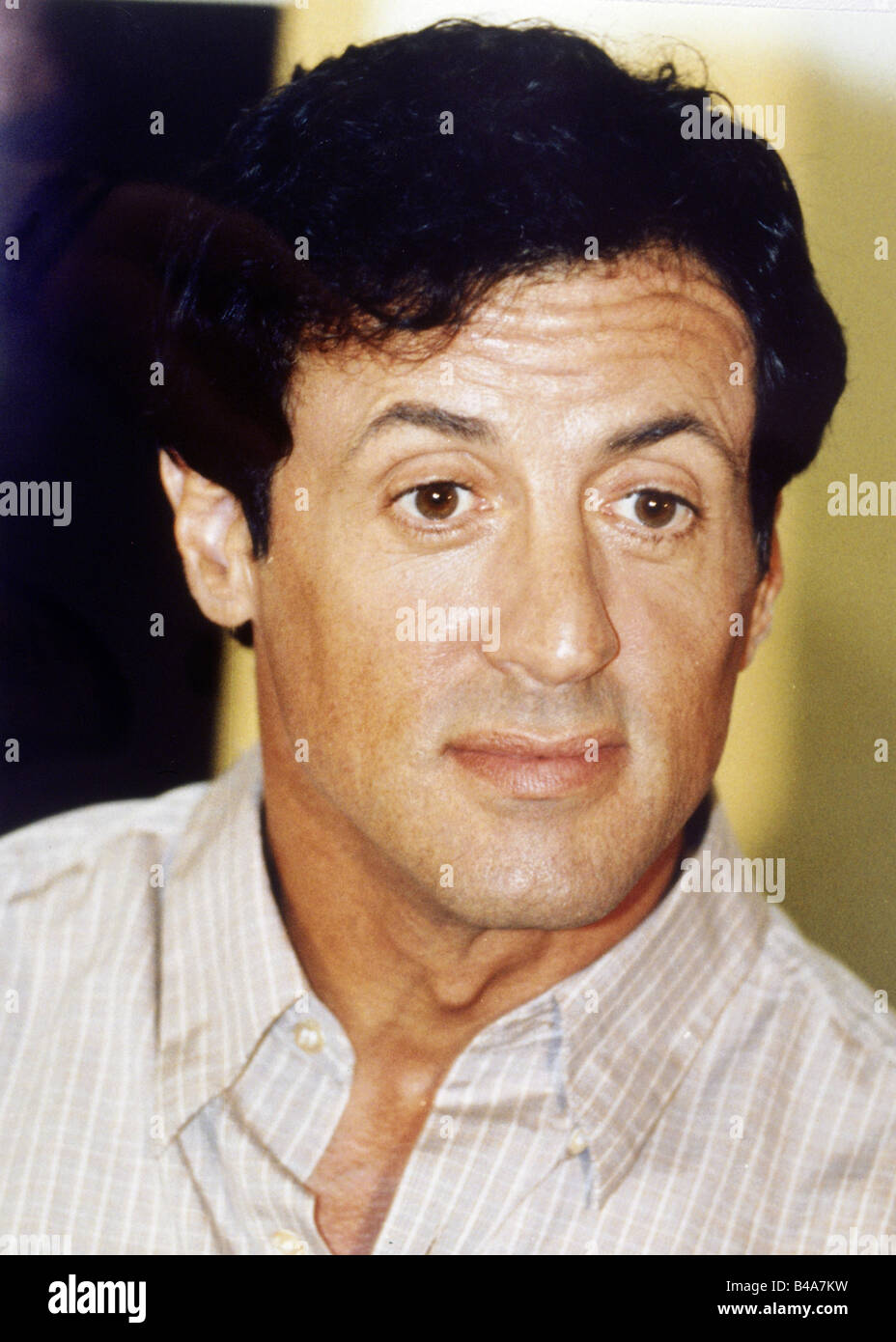 Stallone, Sylvester, * 6.7.1946, American actor, portrait, Hamburg, 1995, Additional-Rights-Clearances-NA - Stock Image