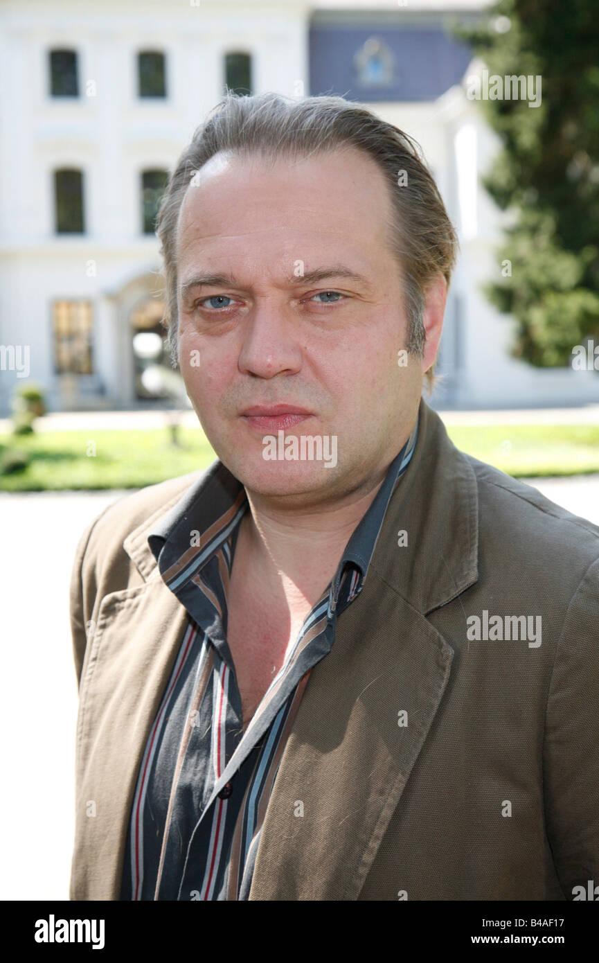 Kremp, Jan-Gregor, * 1962, Austrian actor, portrait, press call to the TV series 'Elvis und der Kommissar', - Stock Image