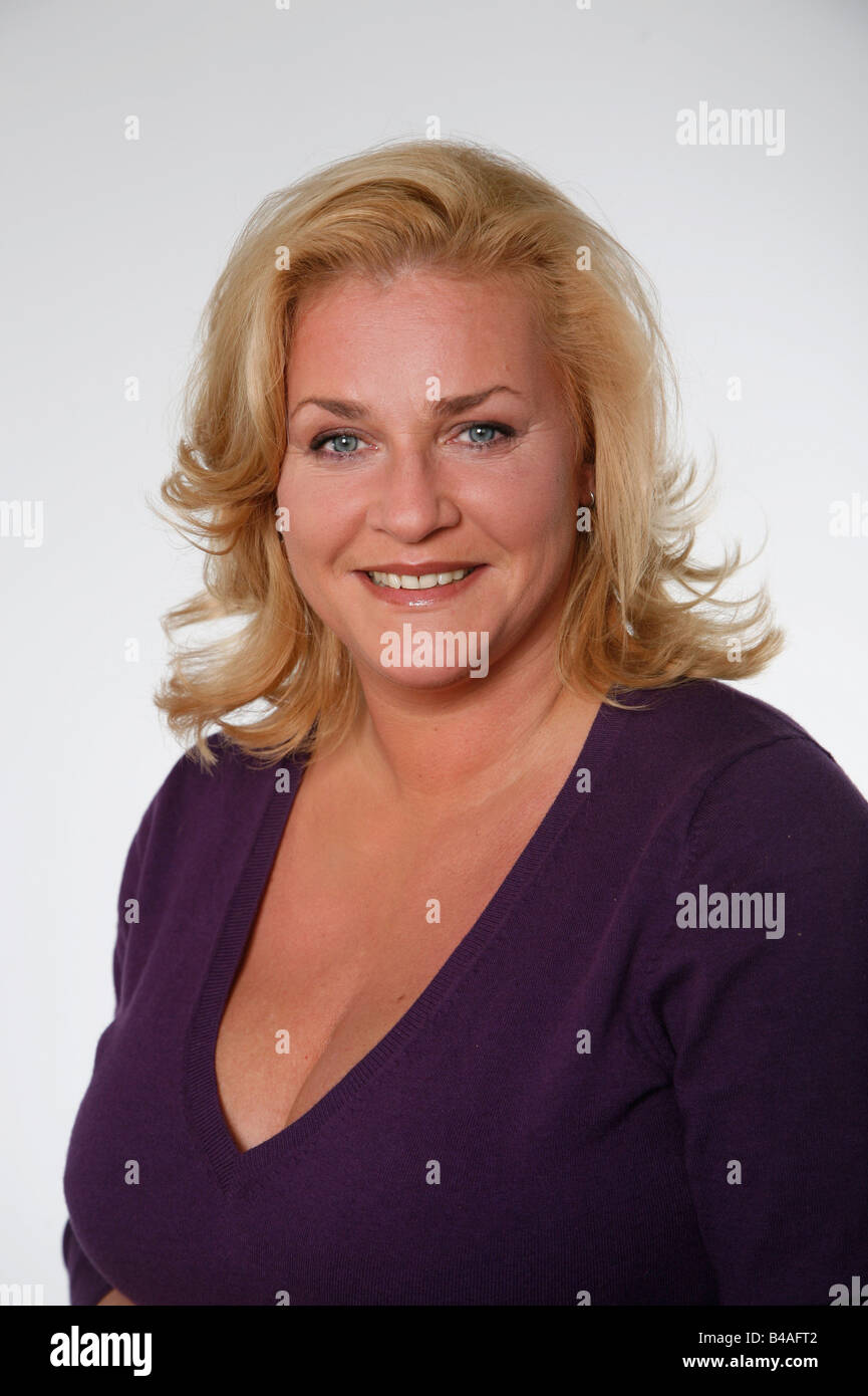 Kleinert, Petra, * 6.7.1967, German actress, portrait, 2007, Additional-Rights-Clearances-NA - Stock Image