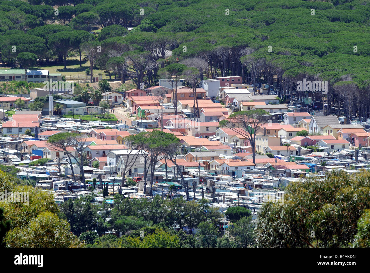 geography / travel, South Africa, Hout Bay, view at Townshio