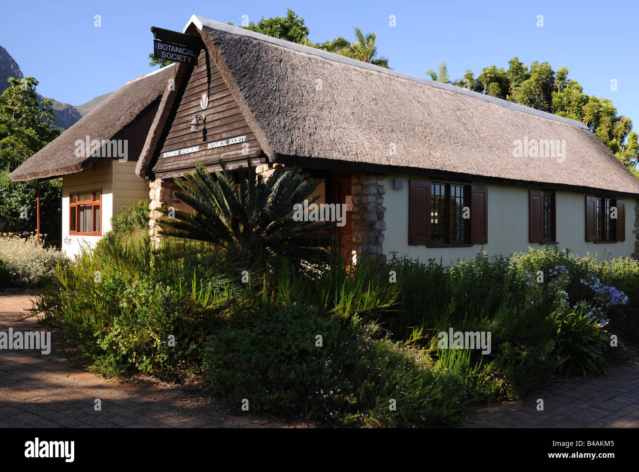 geography / travel, South Africa, Kapstadt, Kirstenbosch, Botanical Society, house in park, Botanic Garden, Additional - Stock Image