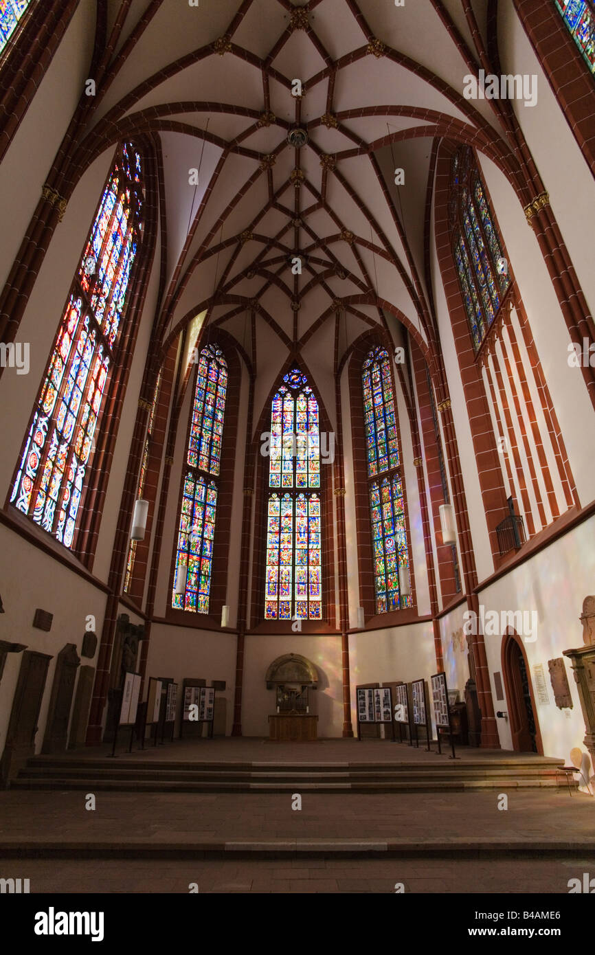 interior of catherines church Rhineland-Palatinate Stock Photo