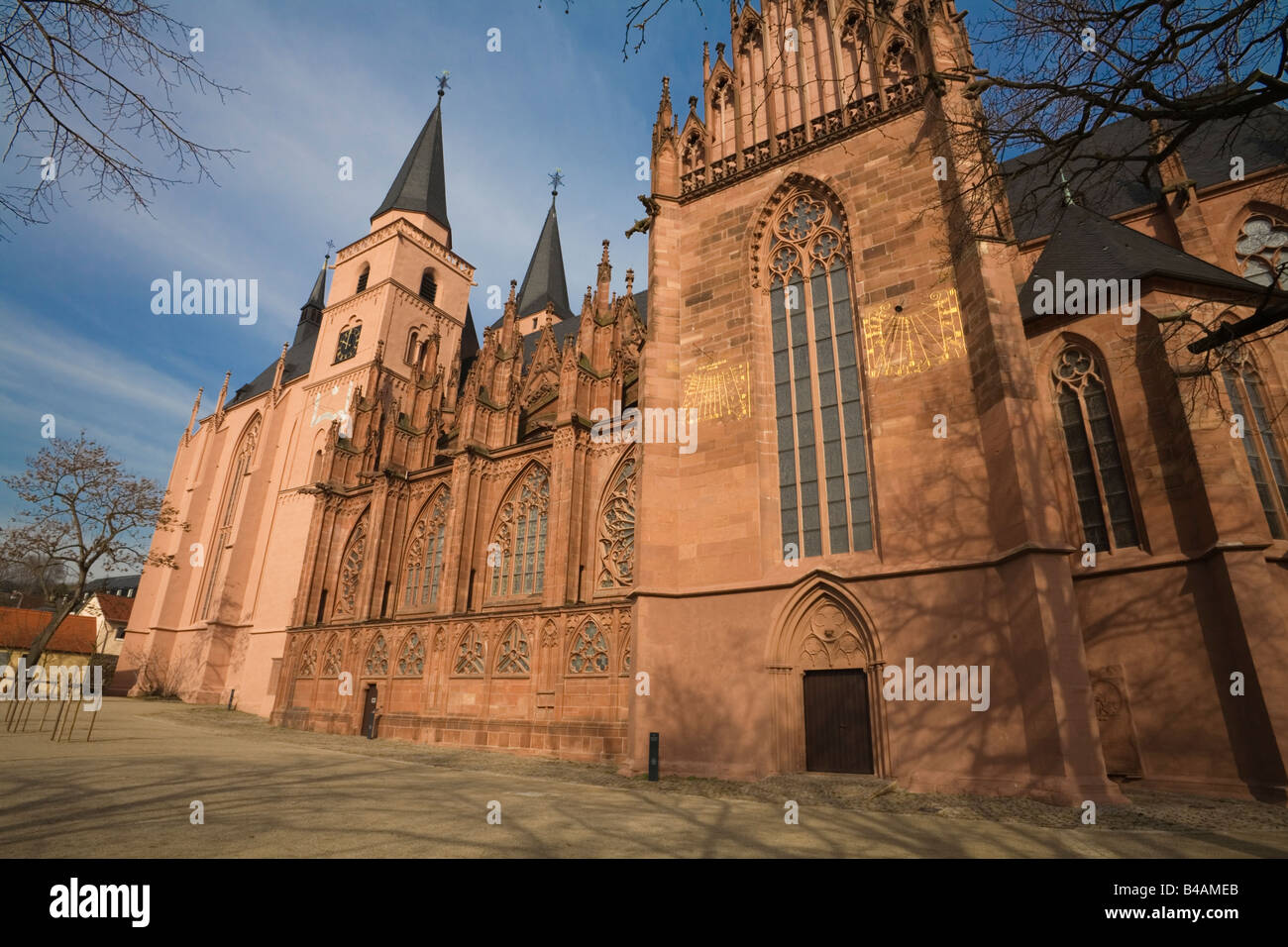 catherines church germany Stock Photo