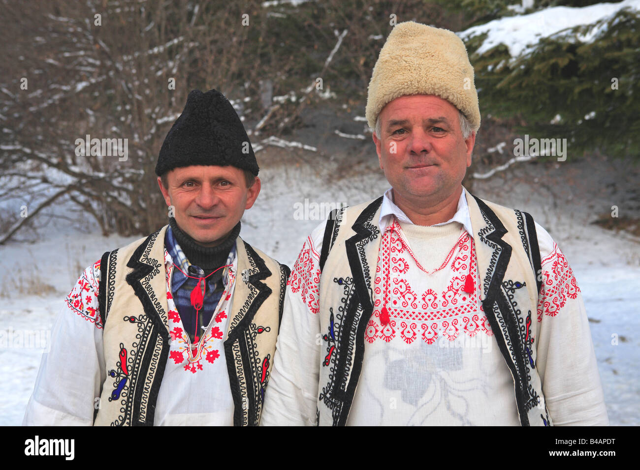 e49690b73 Traditional Transylvanian Dress, Poiana Brasov Stock Photo: 19906148 ...