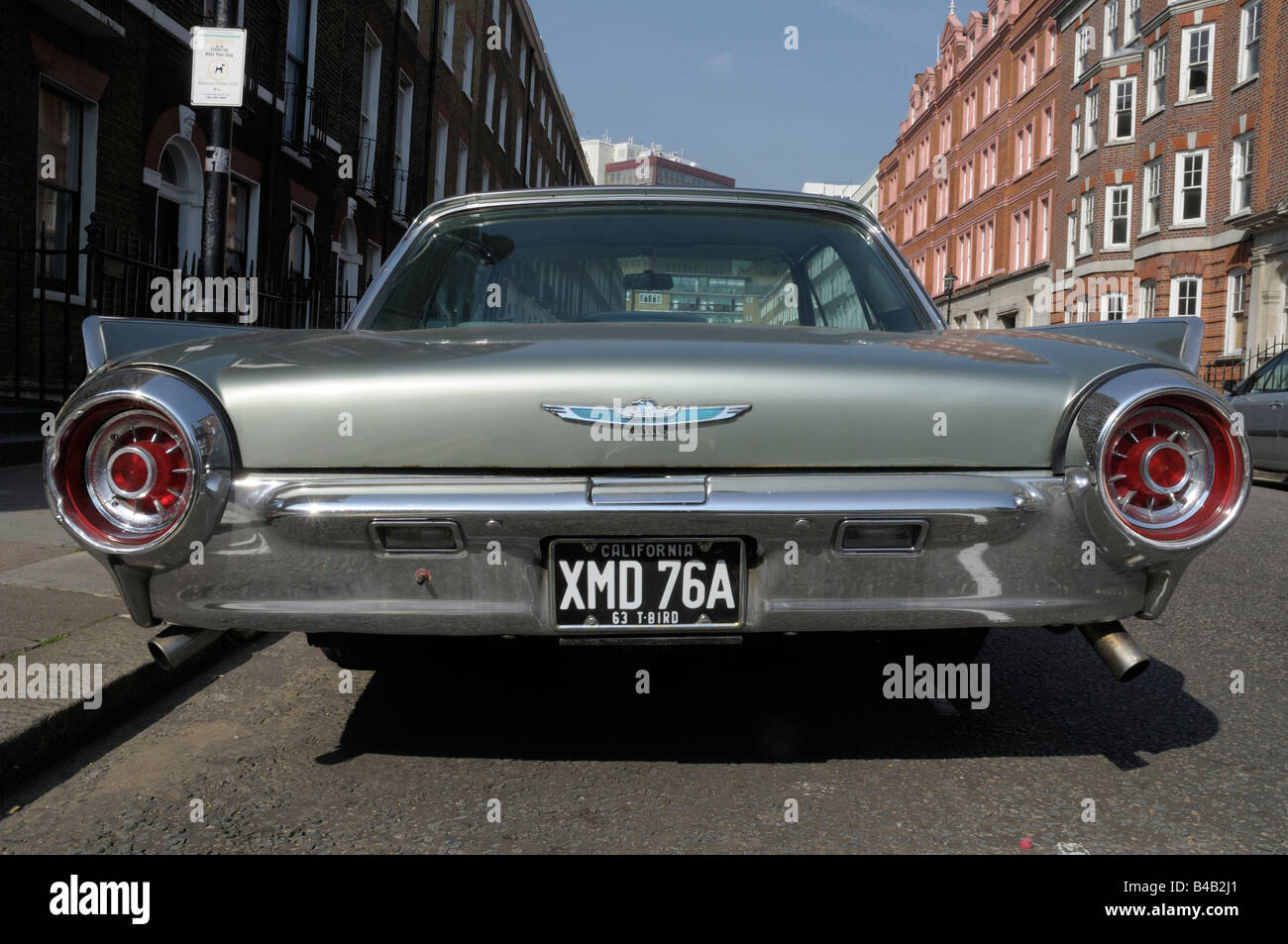 Ford Thunderbird Rear Stock Photos Ford Thunderbird Rear Stock