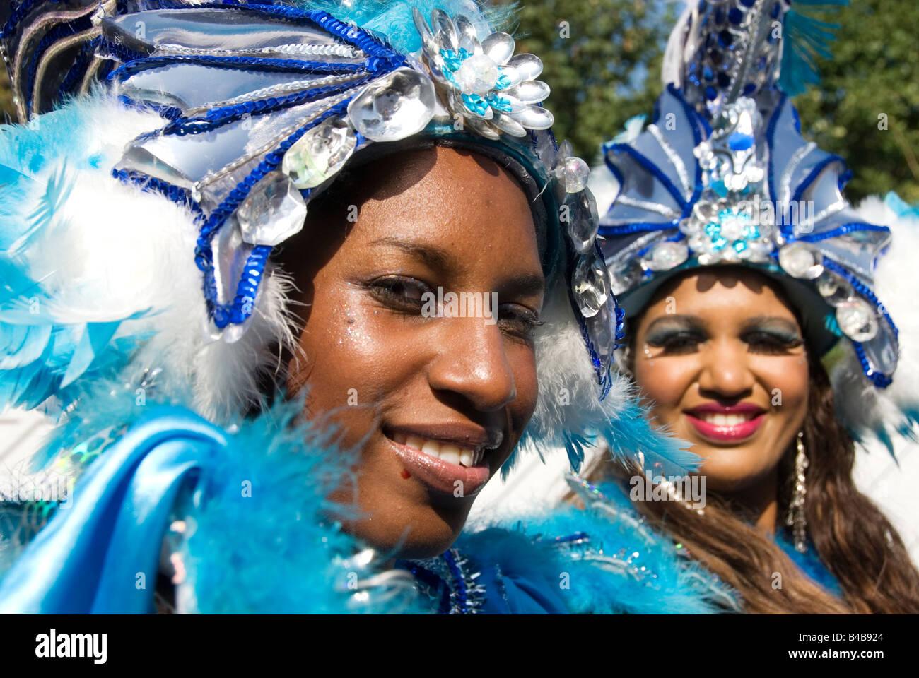 Hackney carnival September 28th 2008 - Stock Image