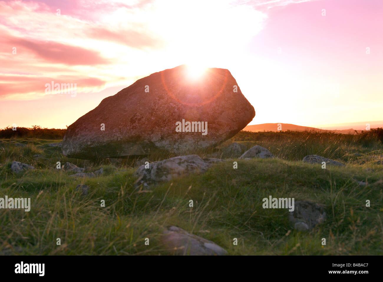 Arthurs Stone. - Stock Image
