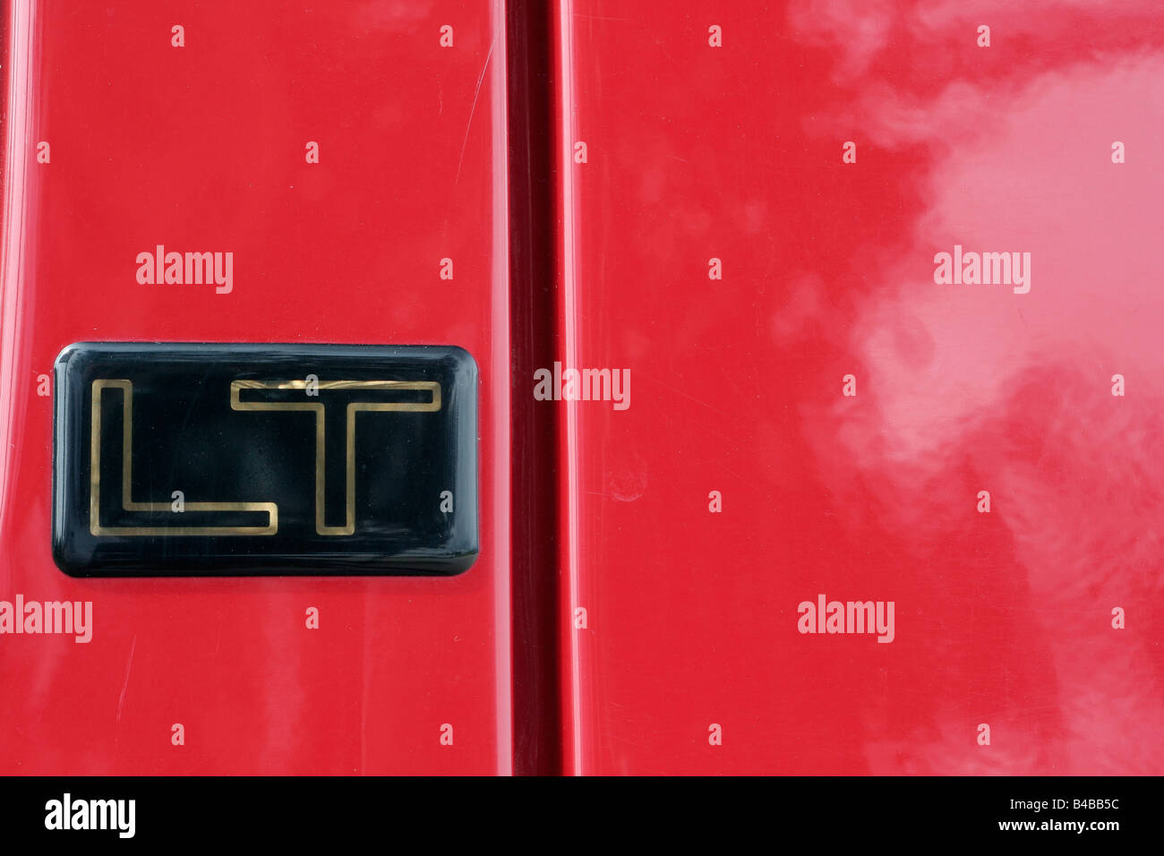 Car SUV body detail - Stock Image