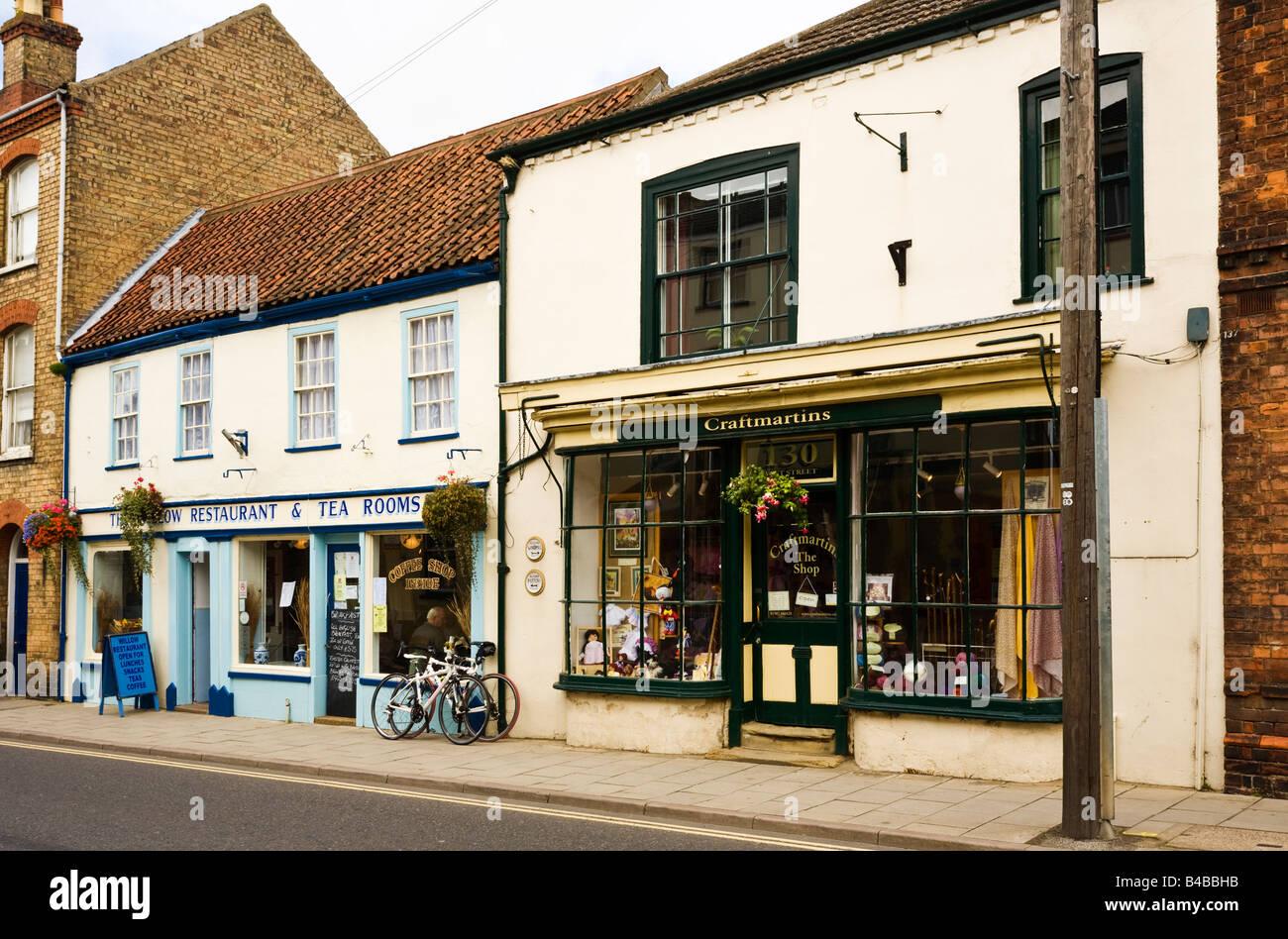 Tea Rooms Alford Lincolnshire