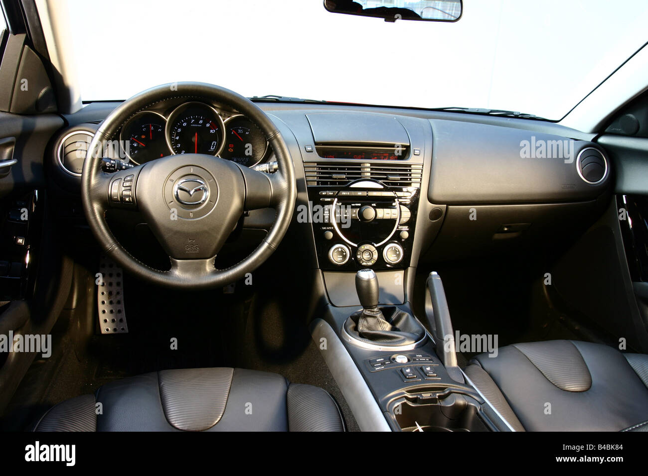 Interior Of Mazda Rx 8 Stock Photos & Interior Of Mazda Rx 8 Stock ...