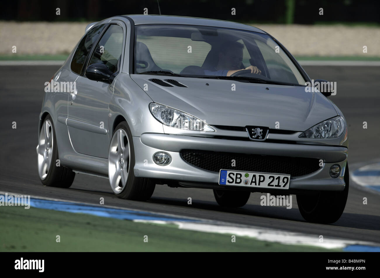 Car Peugeot 206 Rc Limousine Small Approx Model Year 2003 Stock Photo Alamy