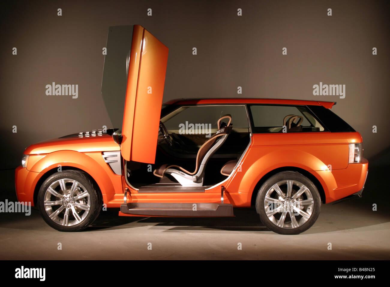 https://c8.alamy.com/comp/B4BN25/car-land-rover-range-stormer-study-draft-study-model-year-2004-orange-B4BN25.jpg
