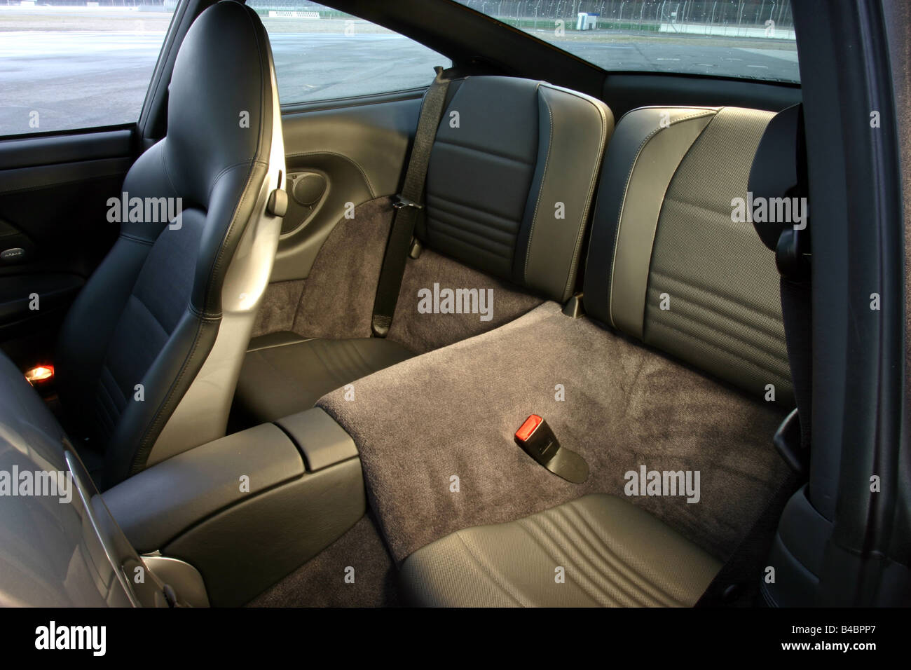Car Porsche 911 40 Years Model Year 2003 Silver Anthracite Stock Photo Alamy
