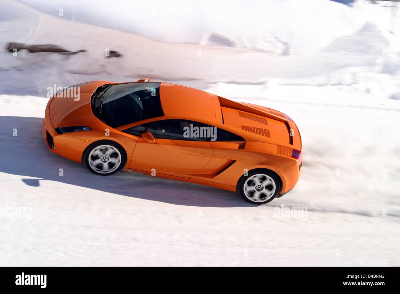 Car, Lamborghini Gallardo, Roadster, Orange , Model Year 2003 , Coupe/