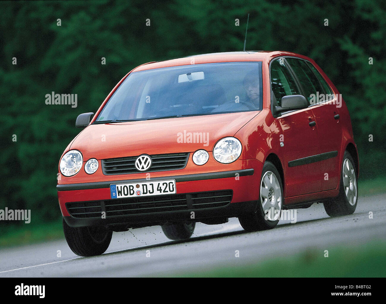 Car Vw Volkswagen Polo Small Approx Limousine Model Year 2002 Stock Photo Alamy