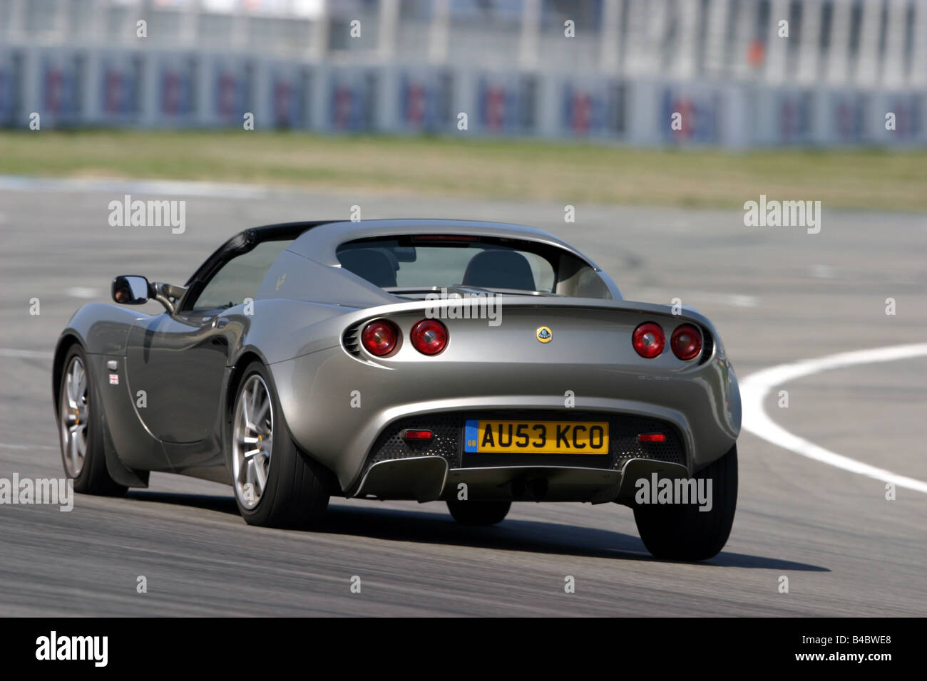 Car, Lotus Elise 111 R, Convertible, model year 2004, open top Stock ...