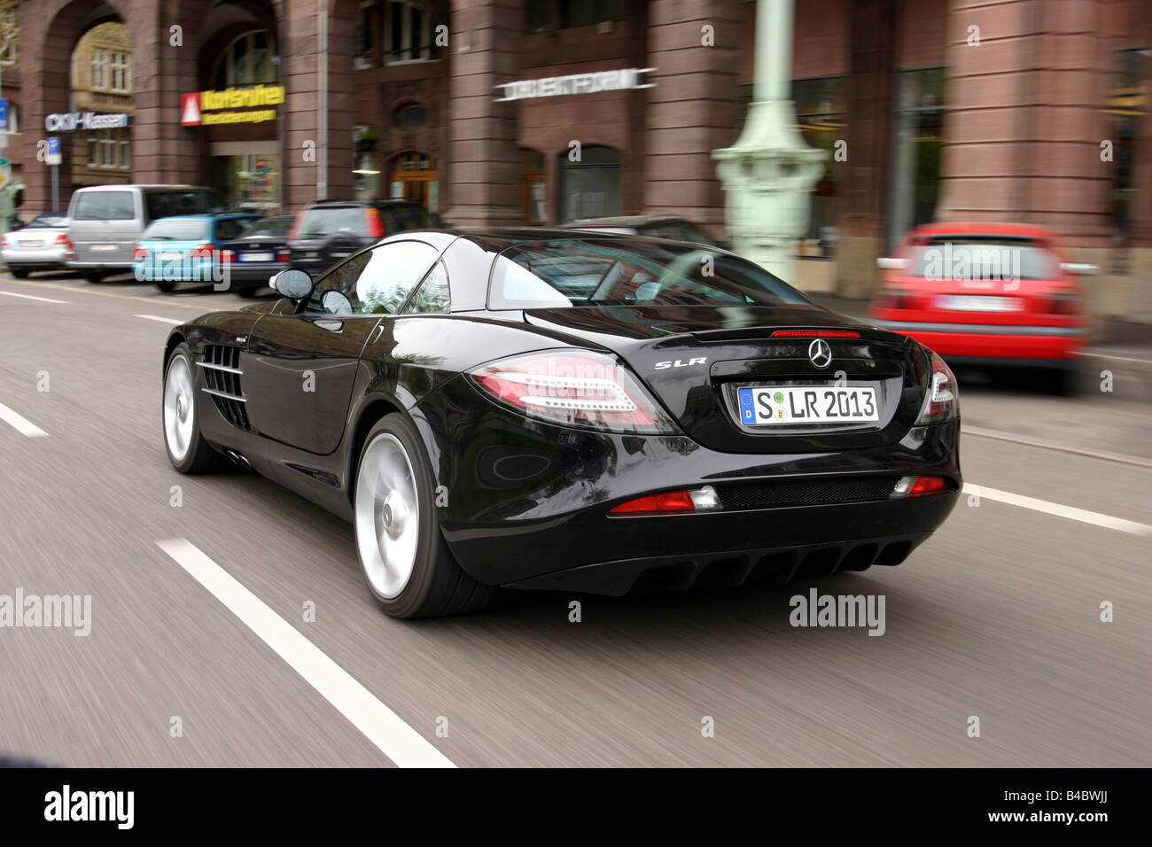 Car Mercedes Slr Mclaren Coupe Coupe Roadster Model Year 2003