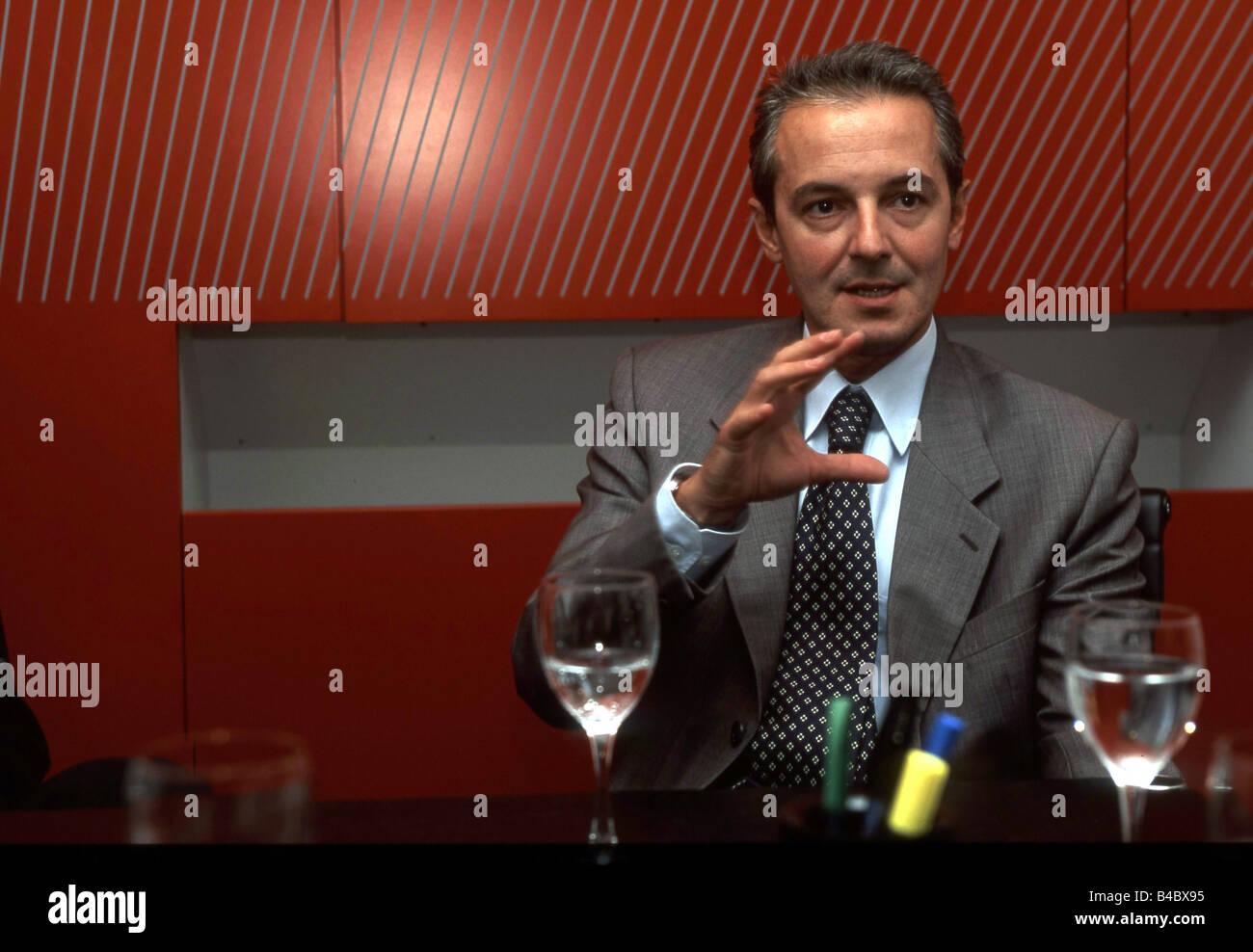 Car, Murat Günak, designer of Volkswagen, Persons, VIPs, Designer, Autodesigner, photographer: Ulrich Jooss - Stock Image