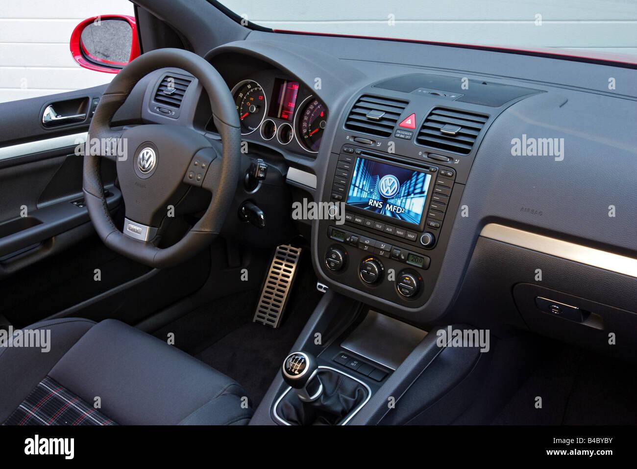 car vw volkswagen golf gti golf v model year 2004 red. Black Bedroom Furniture Sets. Home Design Ideas