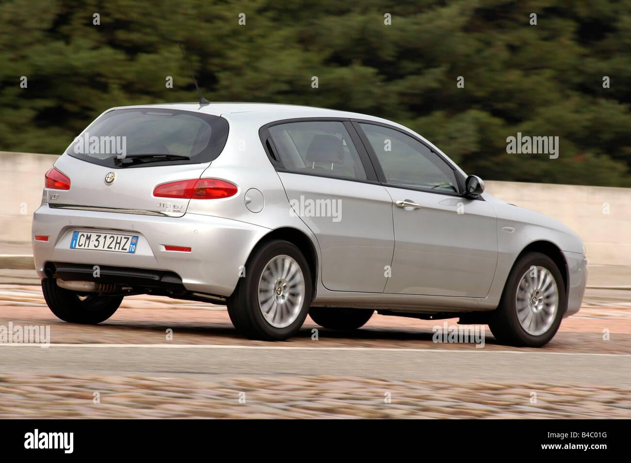 Car Alfa Romeo Jtd Model Year Silver Lower Middle Sized B C G