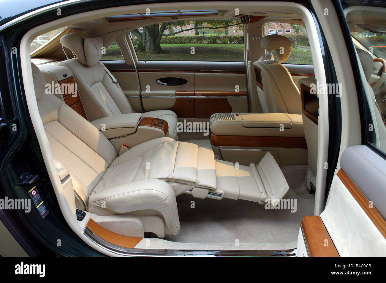 car mercedes maybach 62 luxury approx s limousine model year stock photo 19932763 alamy. Black Bedroom Furniture Sets. Home Design Ideas