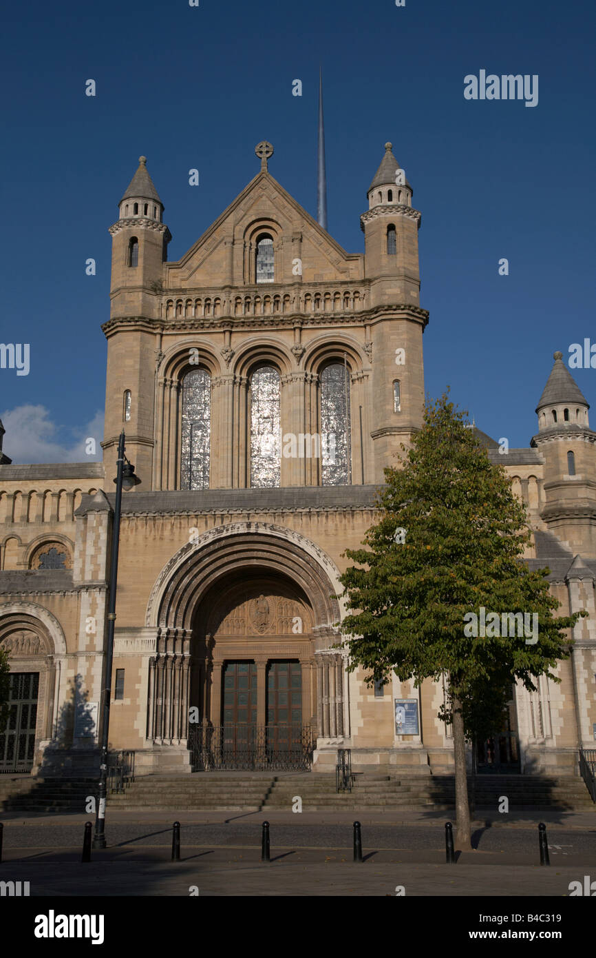 St Annes Cathedral Belfast Northern Ireland UK - Stock Image