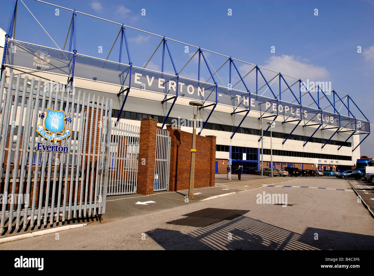 Goodison Park home of Everton football club Liverpool - Stock Image