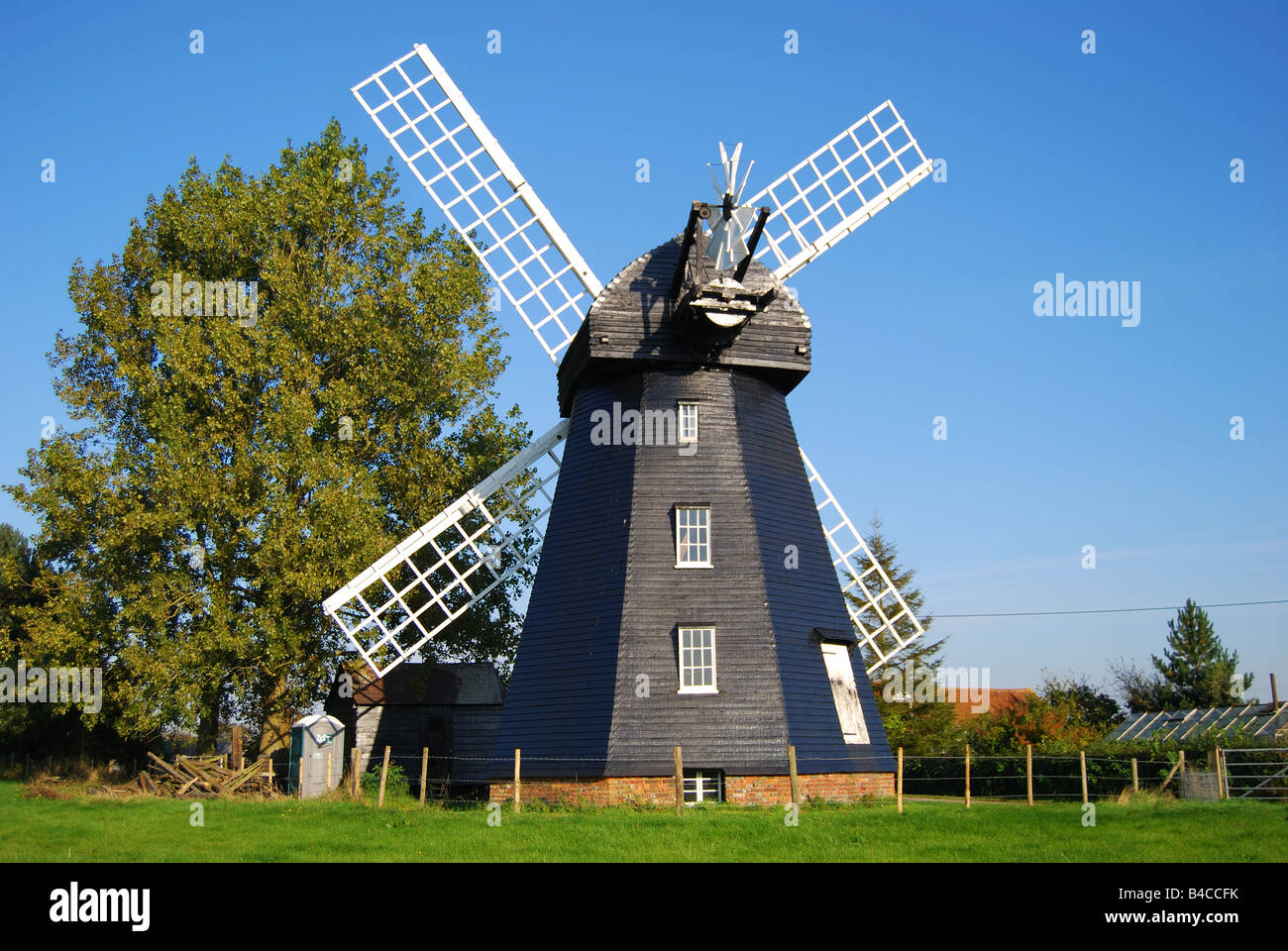 Lacey Green Windmill, Lacey Green, Buckinghamshire, England, United Kingdom - Stock Image