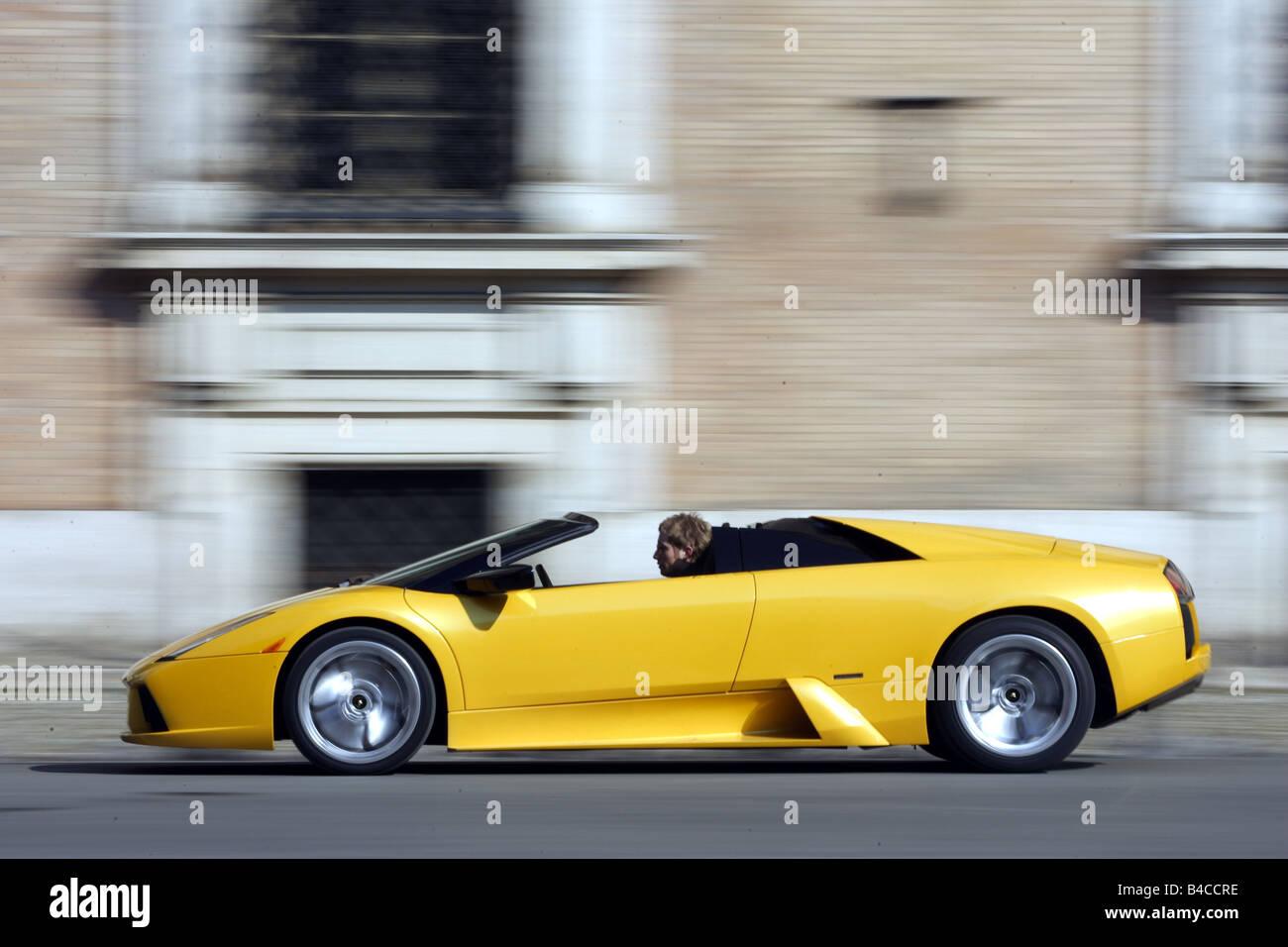 Car Lamborghini Murcielago Roadster Convertible Model Year 2004