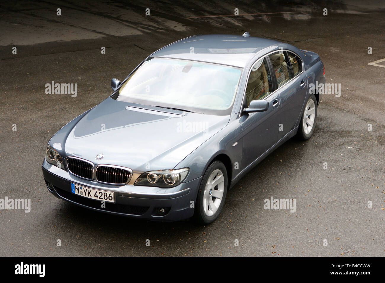 car bmw 745d luxury approx s model year 2005 anthracite stock rh alamy com BMW 6 Series BMW 8 Series