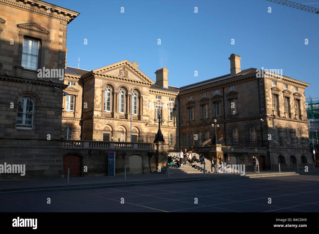 Custom House Square Belfast Northern Ireland UK - Stock Image