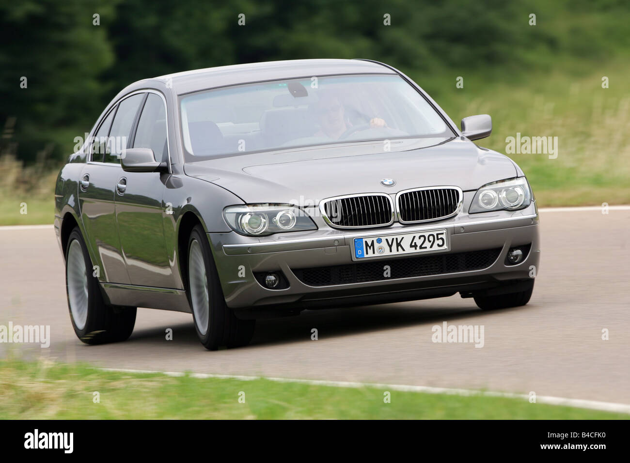 bmw 745d model year 2005 anthracite driving diagonal from the rh alamy com BMW 7 Series 2018 BMW 6 Series