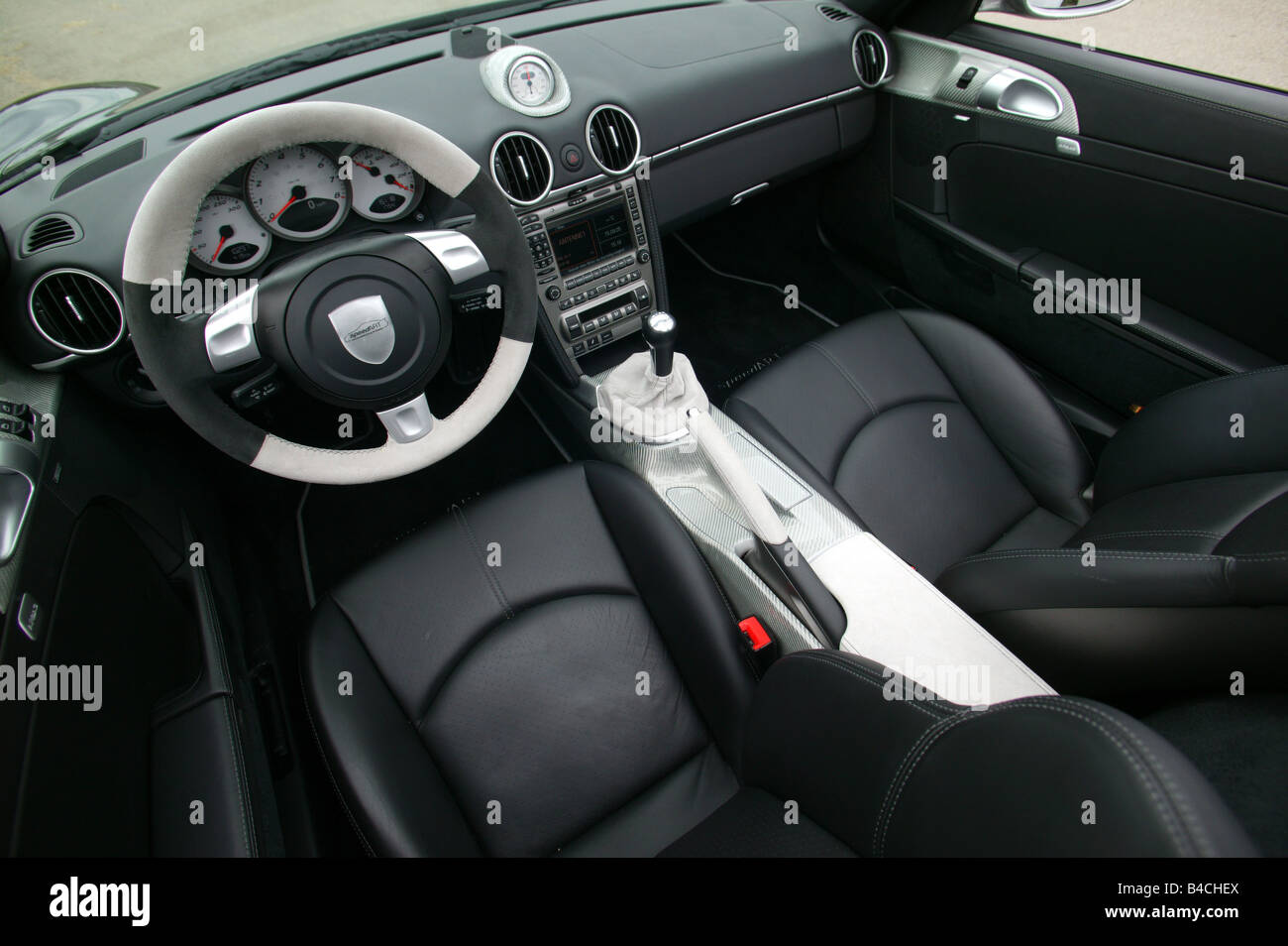 Speedart Porsche Boxster, model year 2005, black/silver