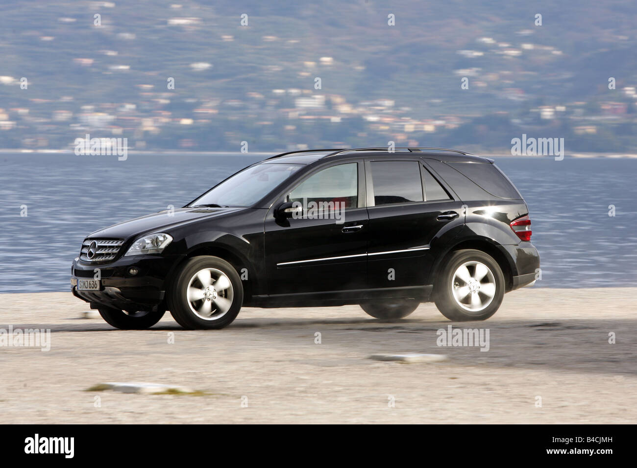 Mercedes Ml 320 Cdi Model Year 2005 Black Driving Side View