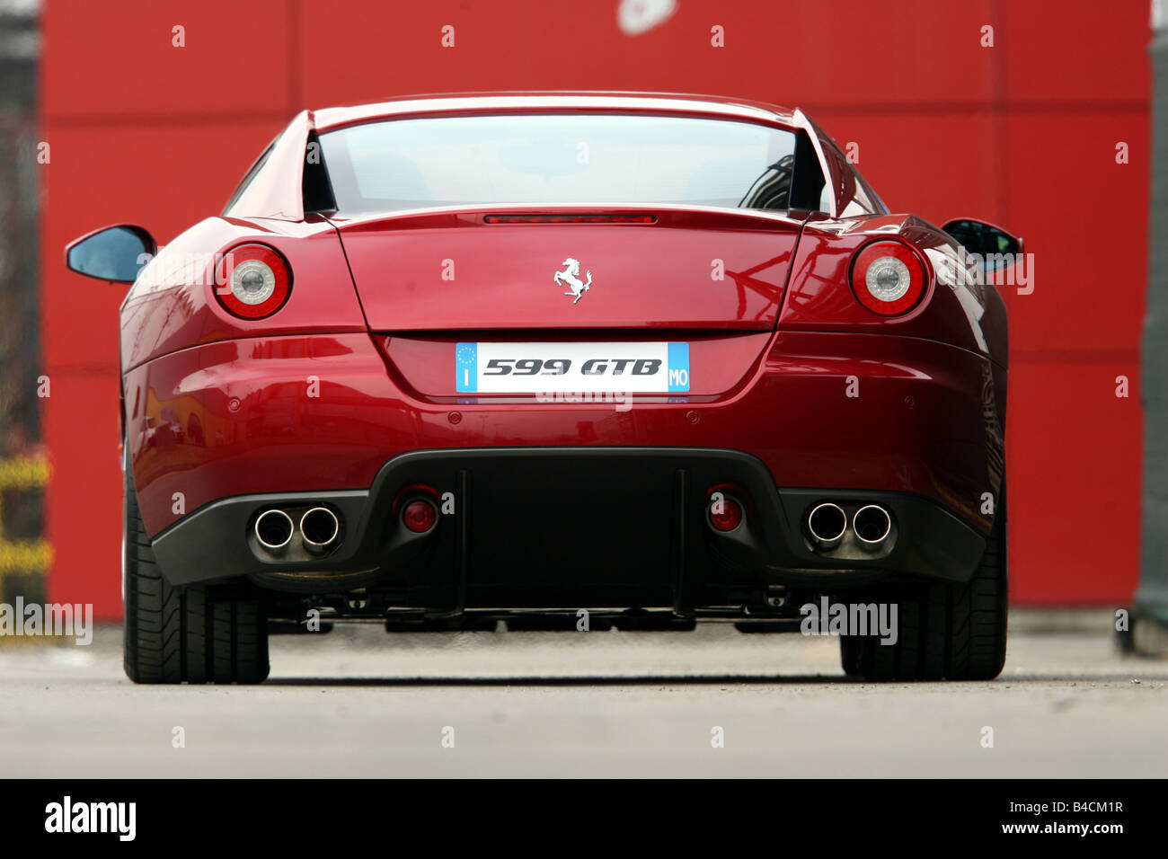 Ferrari 599 Gtb Fiorano Red Model Year 2006 Standing