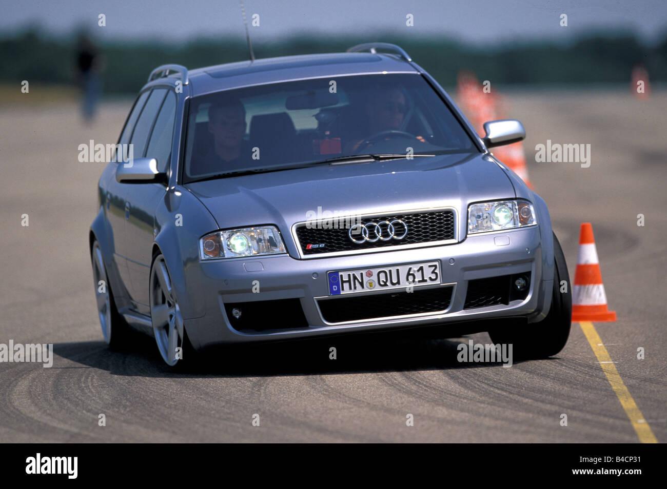 Car, Audi RS6 Avant hatchback, upper middle-sized , Limousine, model ...