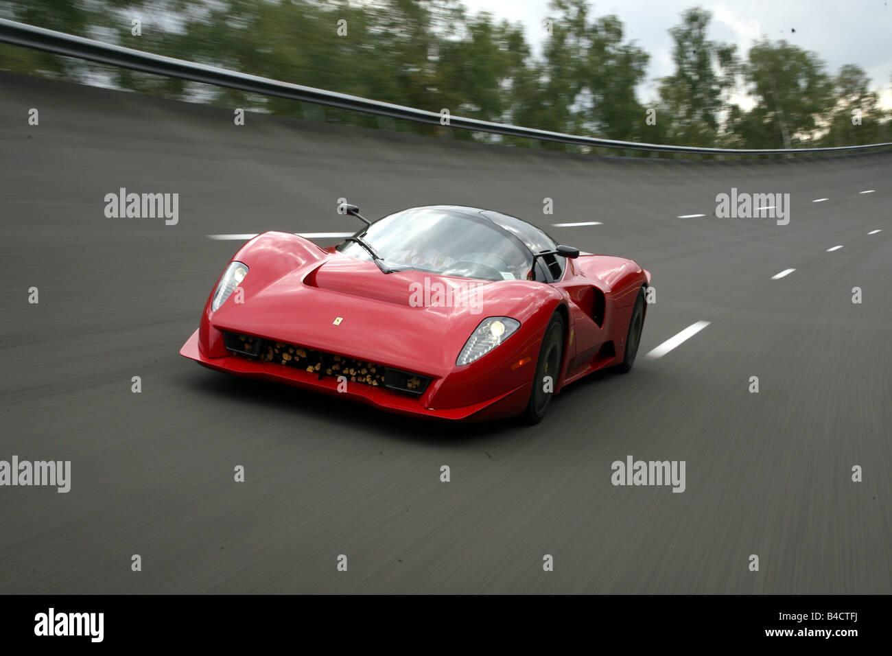 Ferrari P45 By Pininfarina Model Year 2006 Red Driving