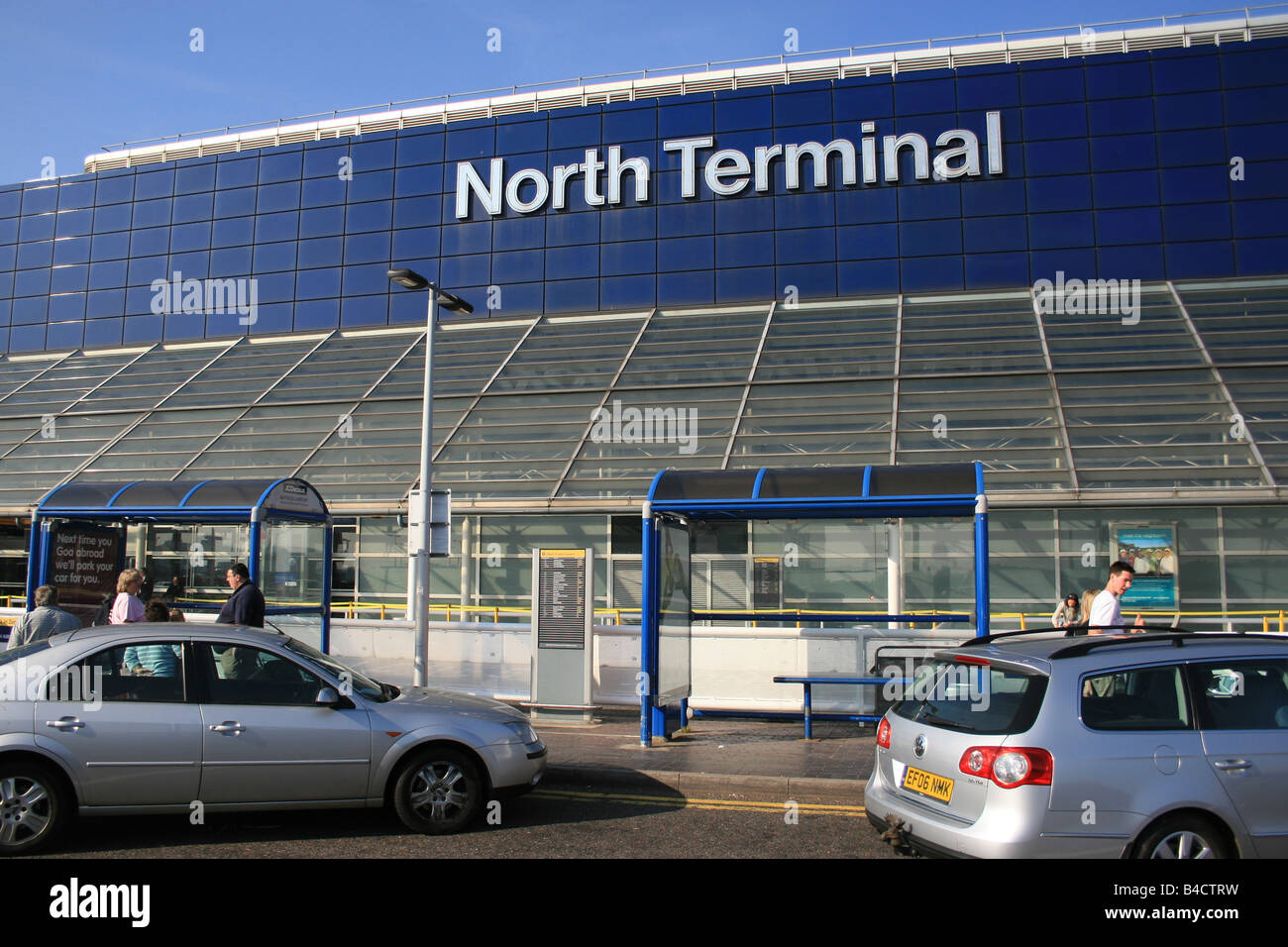 GATWICK AIRPORT NORTH TERMINAL - Stock Image