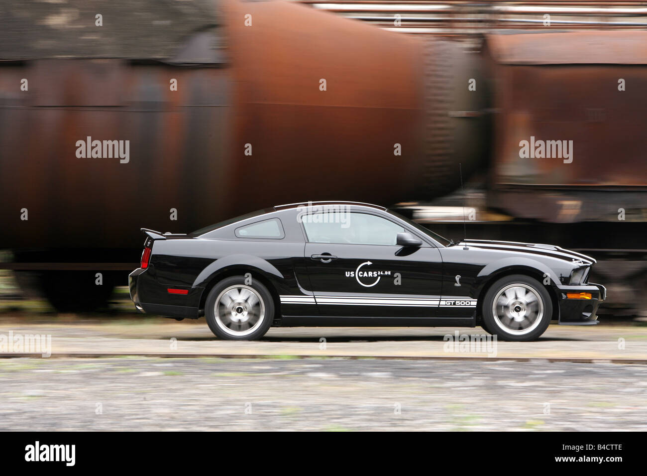 Ford Mustang Shelby Gt  Model Year  Black Driving Side