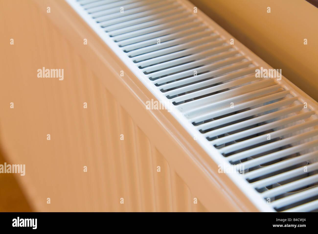 Central heating radiator - Stock Image