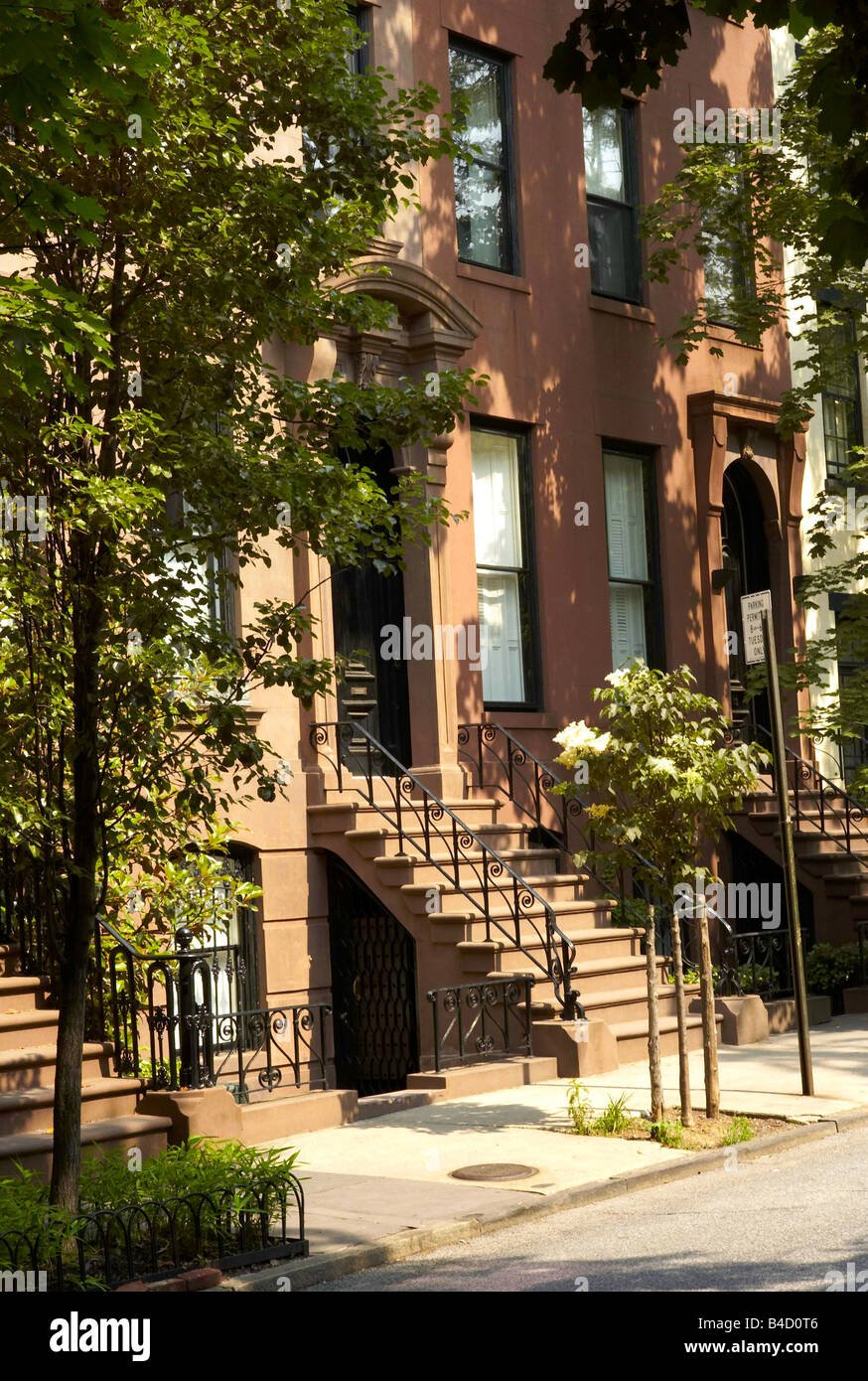 Garden Place Brooklyn New York City USA Stock Photo: 19955046 - Alamy