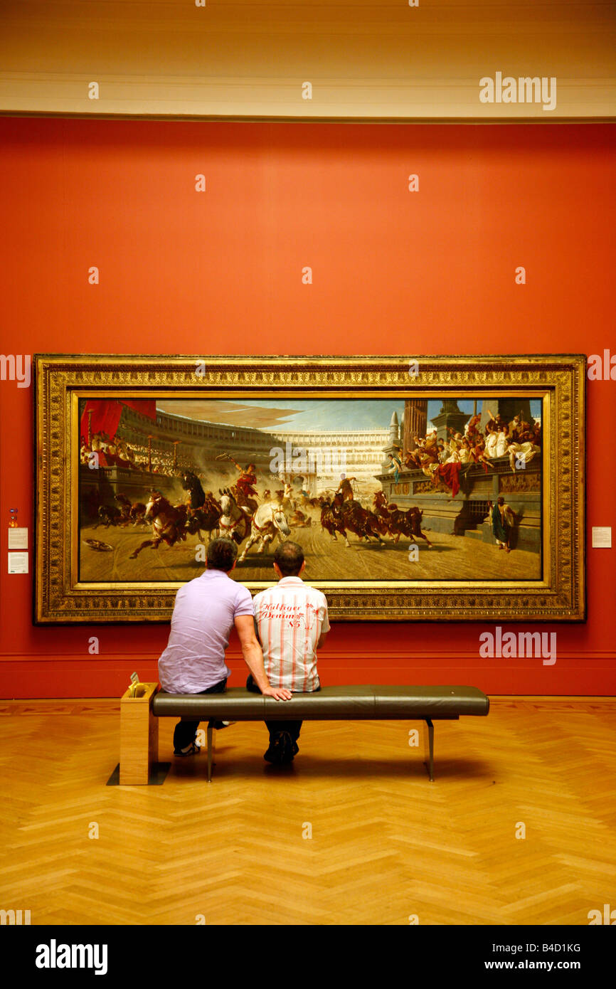 Aug 2008 - Machester Art Gallery on mosley street Manchester England UK - Stock Image