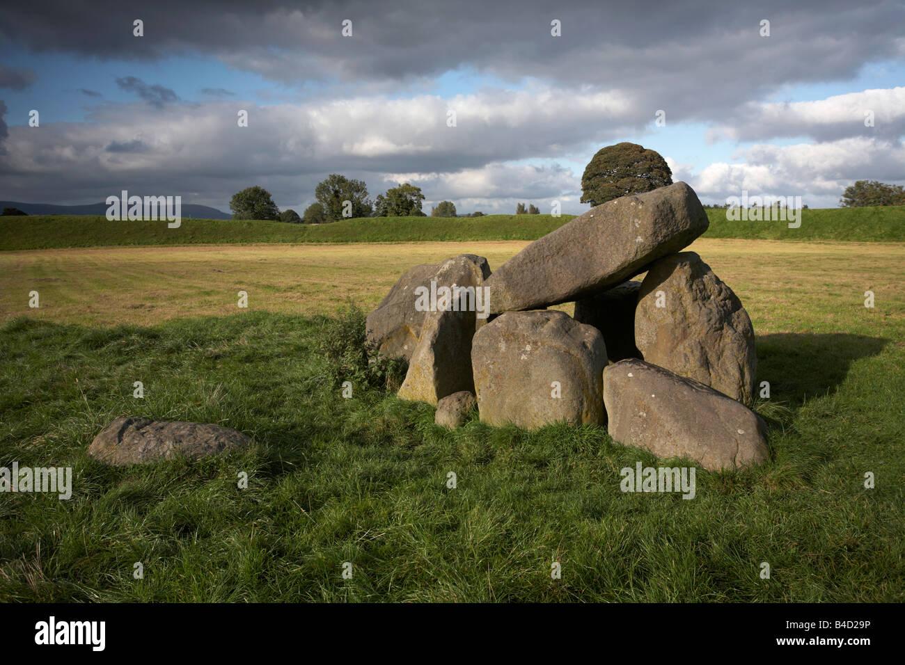 the Giants Ring belfast northern ireland uk Stock Photo