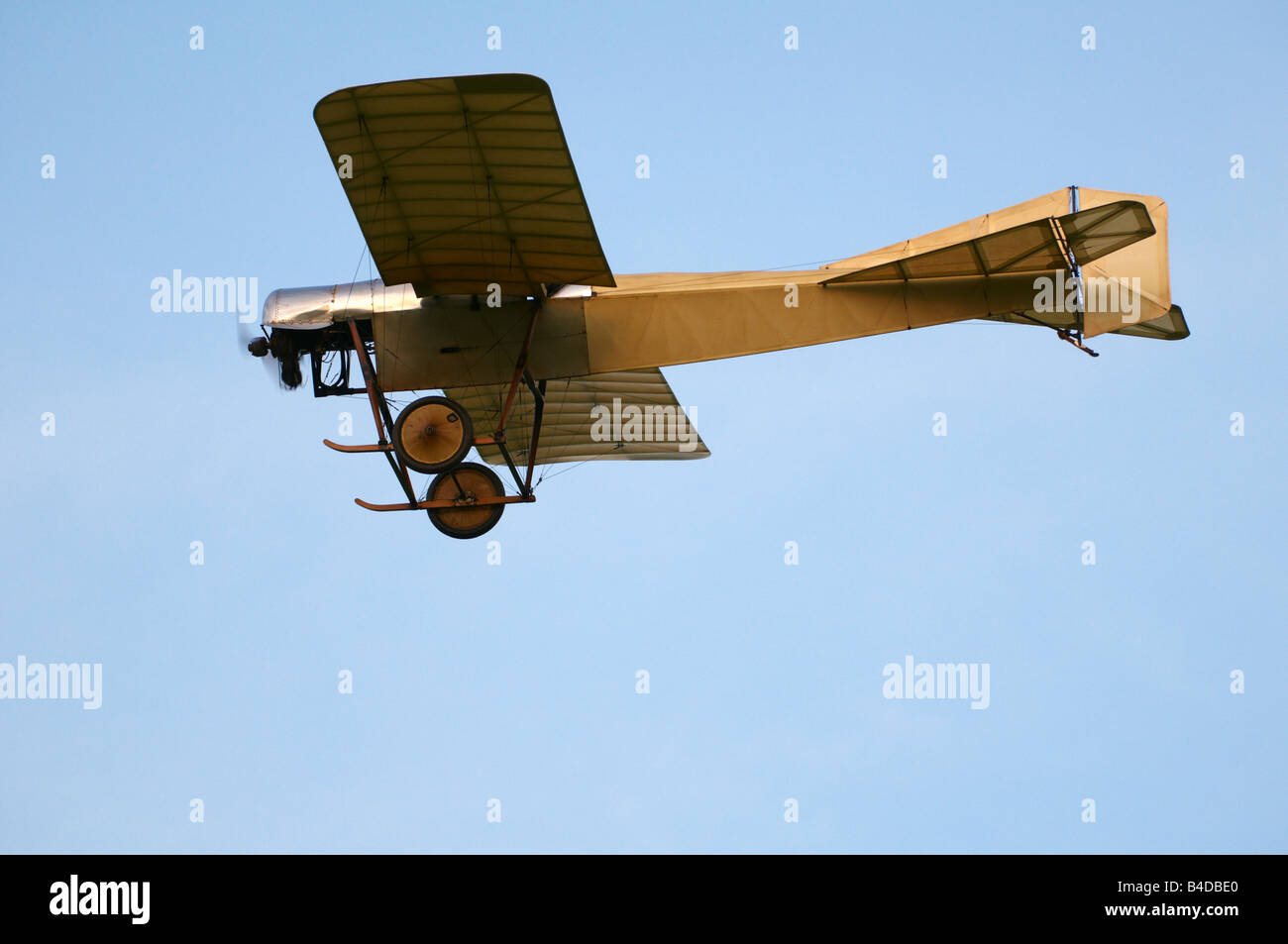 Shuttleworth (Collection) Air Show 2008 Blackburn Monoplane Stock Photo