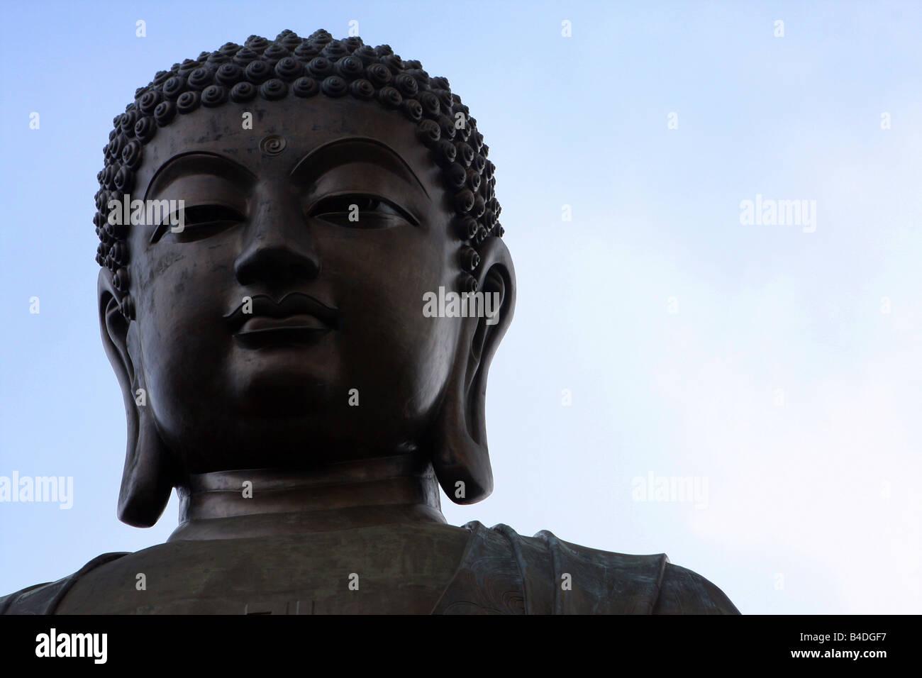 Tian Tan Buddha (Big Buddha), Ngong Ping, Lantau Island, Hong Kong Stock Photo