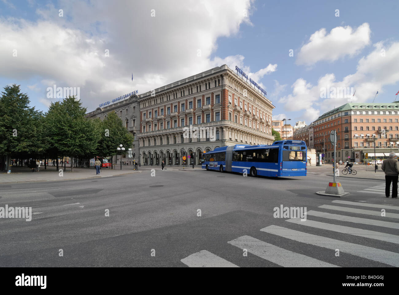 Building of Svenska Handelsbanken - Stock Image