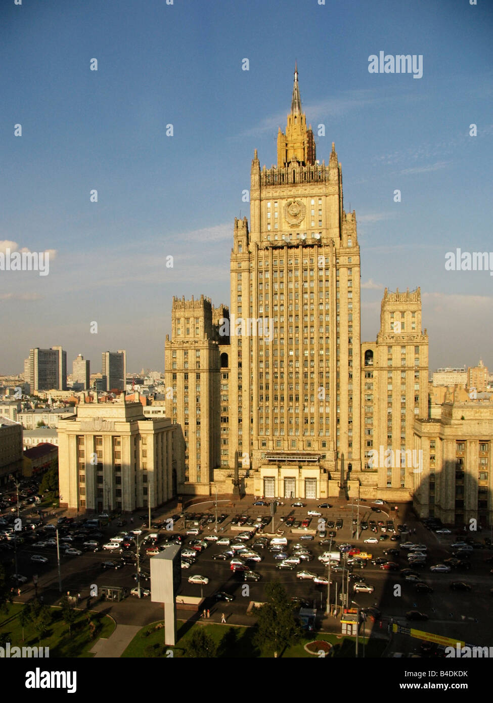 The Ministry of Foreign Affairs, Moscow - Stock Image