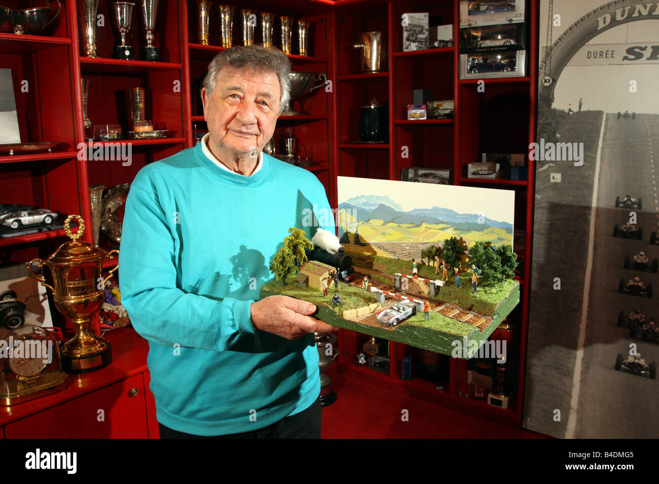 Hans Herrmann - Stock Image